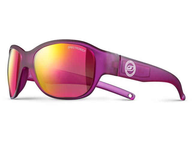 Julbo Lola Spectron 3CF Sunglasses 6-10Y Kids, matt translucent purple-multilayer pink